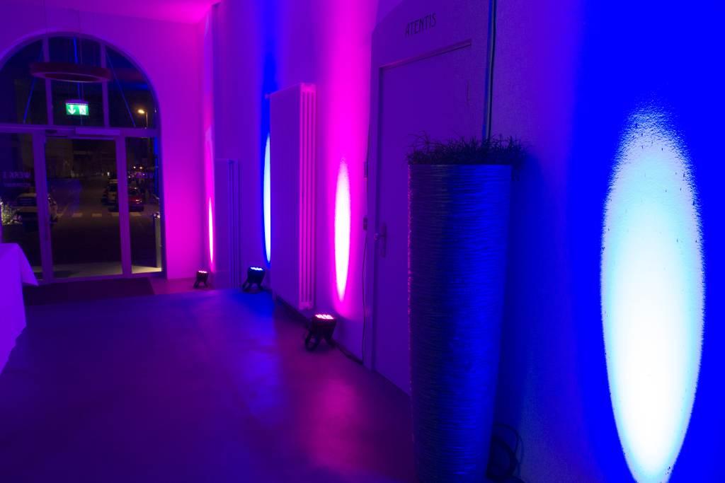 3-Fassadenbeleuchtung-Lichttechnik-Veranstaltungstechnik-Pro Rent GmbH